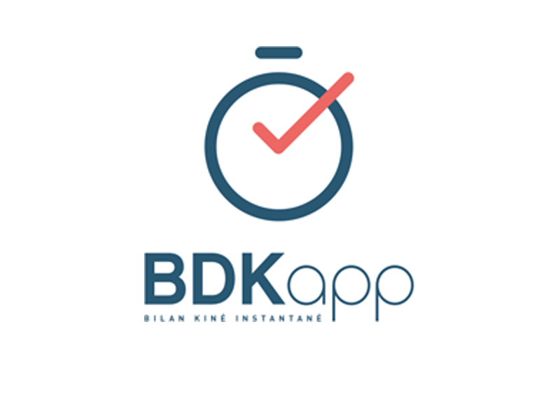 BDKapp bilan kiné instantané application