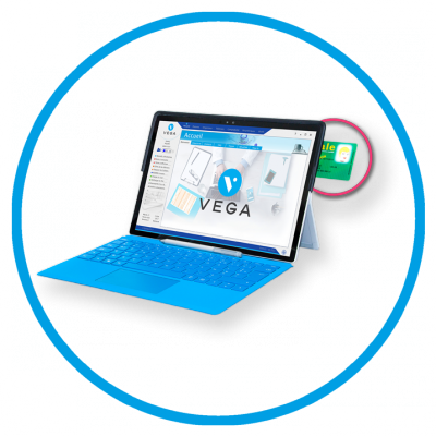 vega tab tablette idel gestion facile
