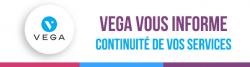 bandeau vega vous informe covd-19 virus services hotline